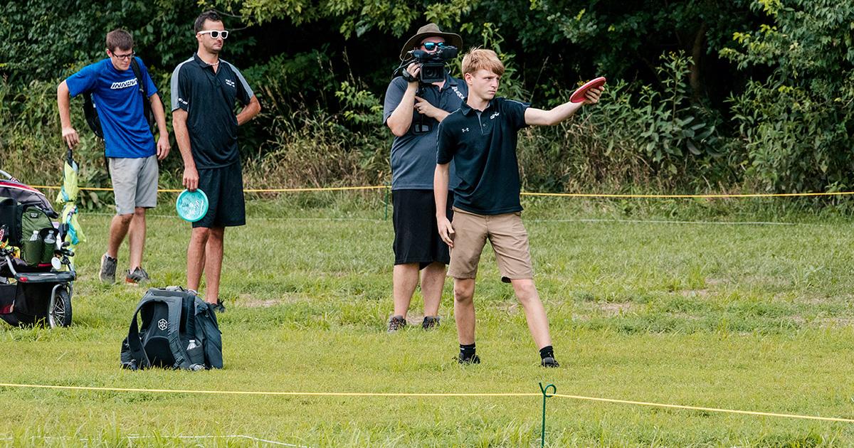 Disc Golfers at the 2020 Ledgestone Insurance Open