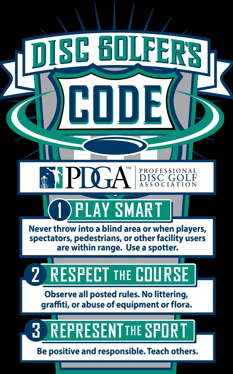 Disc Golfers Code